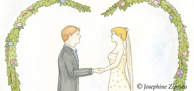 Die Geschichte einer Hochzeitskarte